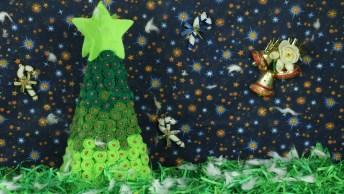 Tutorial De Árvore De Natal Para Enfeitar Sua Casa, Vale A Pena Conferir!