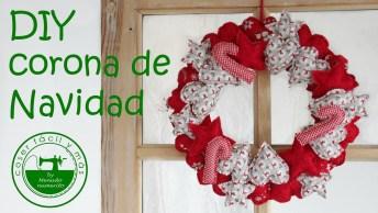 Tutorial De Guirlanda De Natal Mais Lindinha Que Você Já Viu!