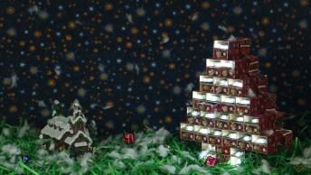 Tutorial De Miniatura De Árvore De Natal Feita Com Caixas De Fósforos!
