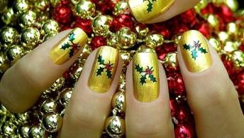 Unhas Decoradas Para O Natal, É Bom Ir Selecionando As Melhores!