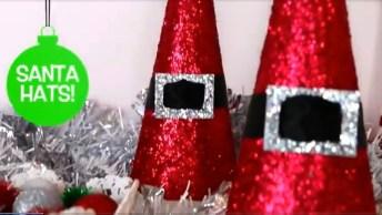 Vídeo Com Decorações De Natal Para Deixar Sua Casa Linda, Confira!