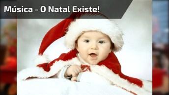 Vídeo Com Mensagem De Feliz Natal Com Música 'Quero Ver Você Não Chorar'!