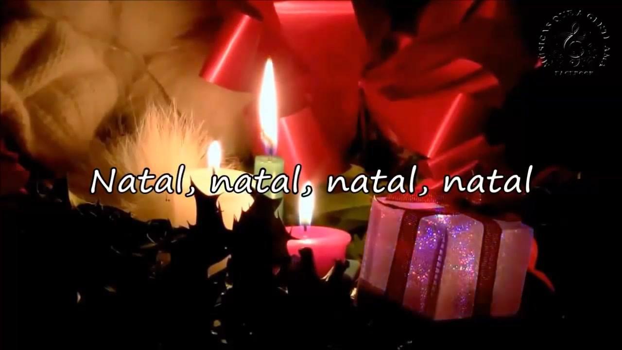 Vídeo com mensagem de Feliz Natal para Whatsapp