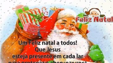 Vídeo Com Mensagem De Natal Com Música 'Então É Natal', Para Facebook!