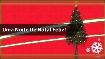Vídeo Com Mensagem De Natal E Canção Natalina, Perfeito Para Whatsapp!