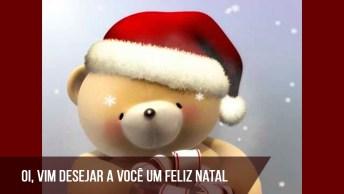 Vídeo Com Ursinho Super Fofo Para Desejar Feliz Natal 2016!