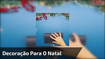 Vídeo Com Varal Decorativo Para O Natal, Olha Só Que Charme!