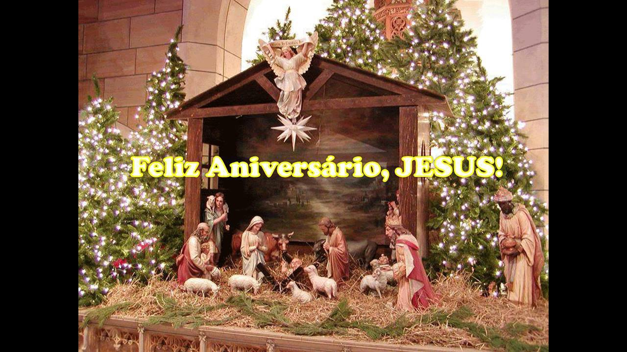 Vídeo de feliz aniversário Jesus