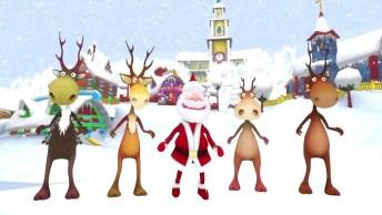 Vídeo De Feliz Natal Animado Para Os Amigos! Vamos Comemorar É Natal!