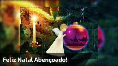 Vídeo De Mensagem De Feliz Natal Para Todos Amigos! Sejam Todos Abençoados!