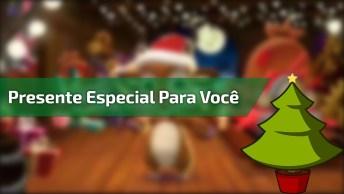 Vídeo De Natal Com Mensagem Carinhosa, Para Enviar Pelo Whatsapp!