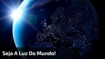 Vídeo De Natal Com Mensagem 'Seja A Luz Do Mundo', Sensacional!