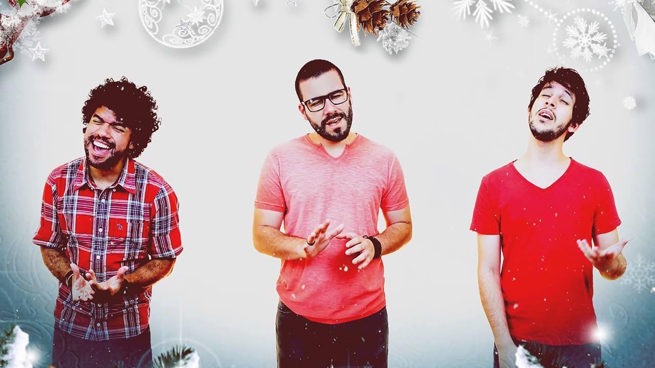 Video de natal com musica natalina cantada a acapella