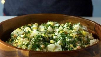 Video De Natal Com Receita, Aprenda A Fazer Salada De Maionese Natalina!