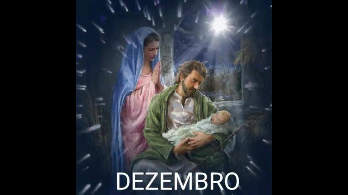 Vídeo para o mês de Dezembro, o mês do Natal