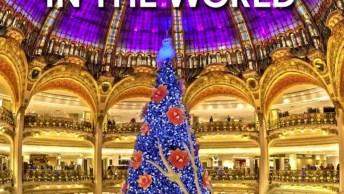 Você Já Viu As Árvores De Natal Mais Incríveis Do Mundo? Confira Algumas Aqui!