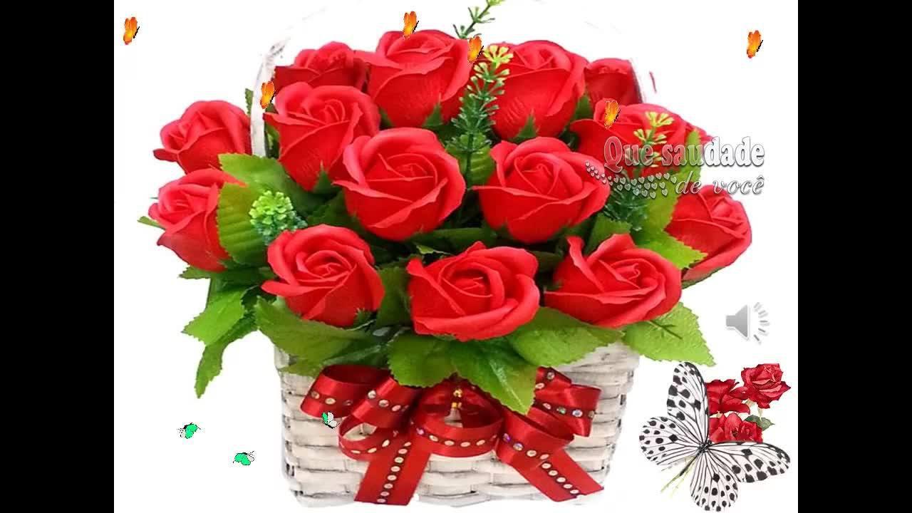 Vídeo de feliz sexta-feira com rosas e bençãos