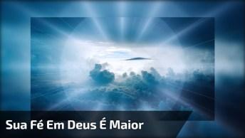 Mensagem De Indireta Para Quem Tenta Te Derrubar, Mas Sua Fé Em Deus É Maior!