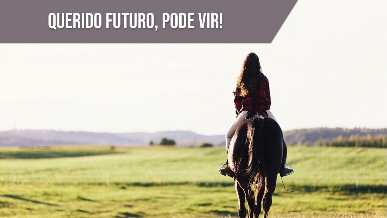 Ao passado apenas gratidão, e ao futuro foco e fé!