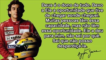 Frases Motivacionais Do Ayrton Senna - Para Compartilhar No Facebook!