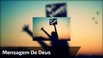 Mensagem Motivacional De Deus, Envie Para Seus Amigos Do Whatsapp!
