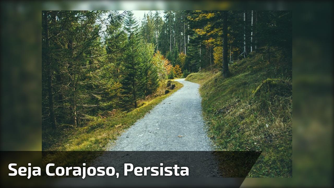 Mensagem motivacional. Foco, dedicação e persistência fazem toda diferença!!!
