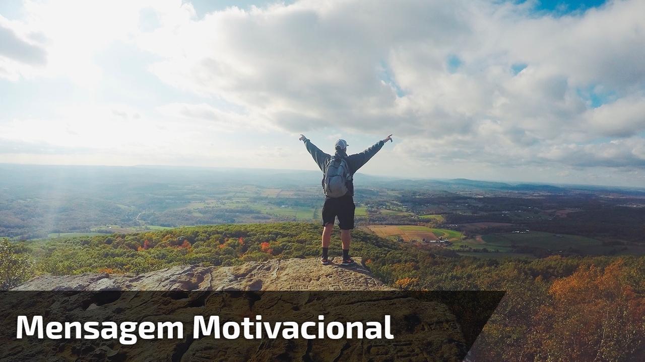 Mensagem motivacional