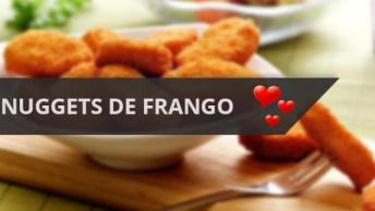 Nuggets De Frango Caseiro, Mais Saudável Que Os Industrializados!