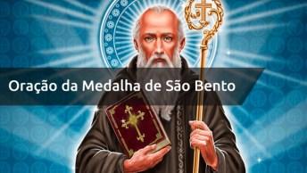 Oração Da Medalha De São Bento - A Cruz Sagrada Seja Minha Luz!