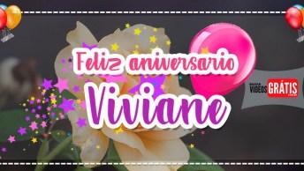Parabéns Viviane - Mensagem De Aniversário Personalizada Com Nome Grátis!