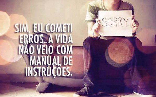 Imagem para pedir desculpa ha alguém muito especial