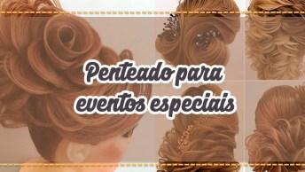 Penteado Para Eventos Especiais, Impossível Não Arrasar Com Penteado Desse!