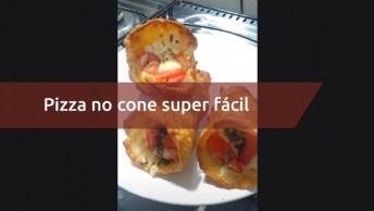 Pizza No Cone Super Fácil De Fazer, Bora Conferir Este Vídeo Maravilhoso!