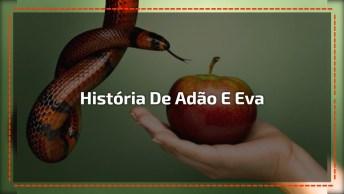 A Versão Mais Fofa Da História De Adão E Eva, Muito Fofinha Essa Menina!