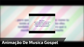 Animação Para Música Corpo E Família Na Voz Da Cantora Gospel Aline Barros!