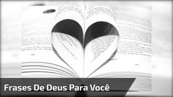 Frases De Deus Para Você, Se Gostou, Não Esqueça De Compartilhar!