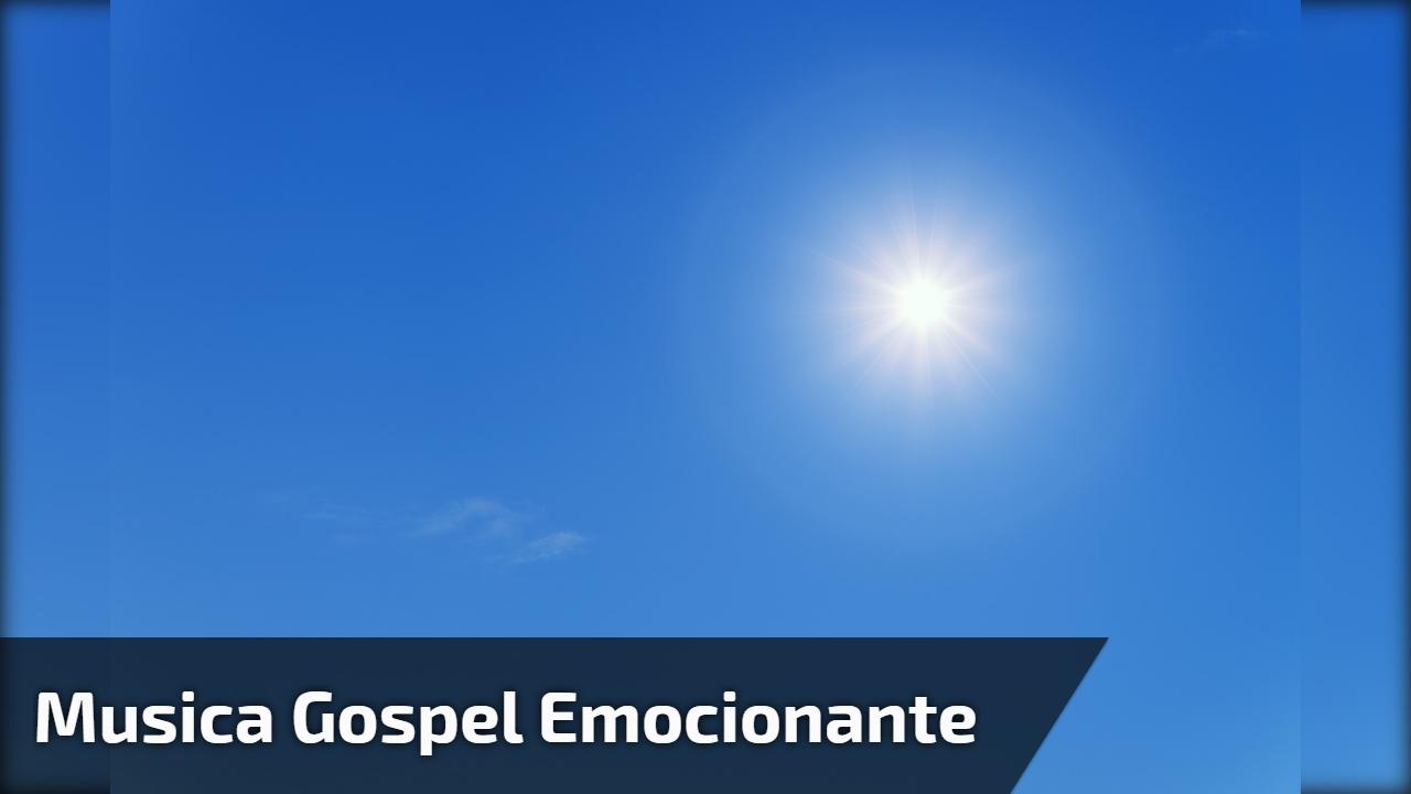 Musica gospel emocionante