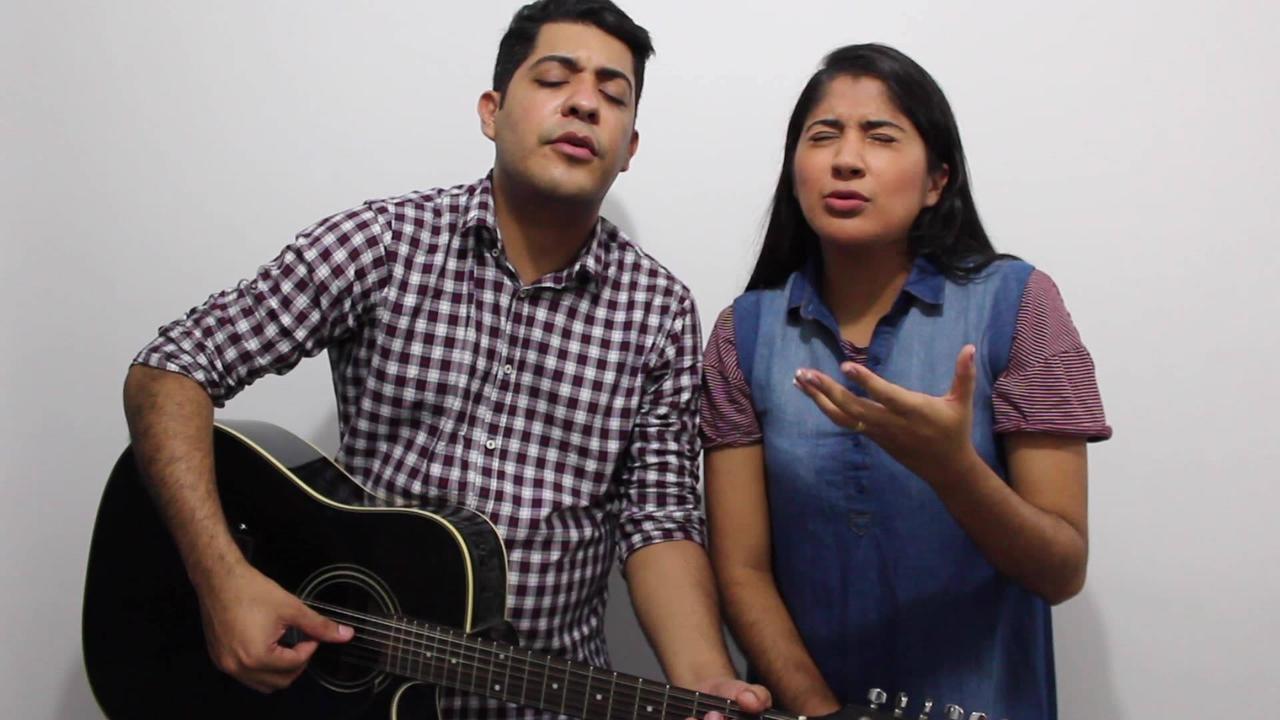Linda canção gospel cantada por um casal