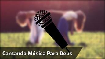 Meninas Cantando Música Evangélica, Um Lindo Trabalho Das Duas, Ajude A Divulgar