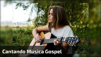 Meninas Cantando Música Gospel, Elas Cantam Muito Bem, Confira!