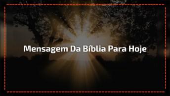 Mensagem Da Bíblia Para Hoje - Eu Sou A Ressurreição - Compartilhe!
