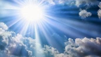 Mensagem Evangélica. Ore Sempre Que Puder E Sinta A Presença De Deus!