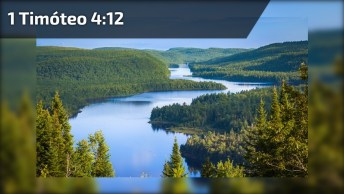 Mensagem Gospel - Fiéis Na Palavra - 1 Timóteo 4: 12. Compartilhe!