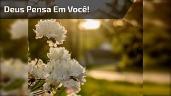 Mensagem Gospel Para Amigos E Amigas Especiais. Todo Dia Deus Pensa Em Você!