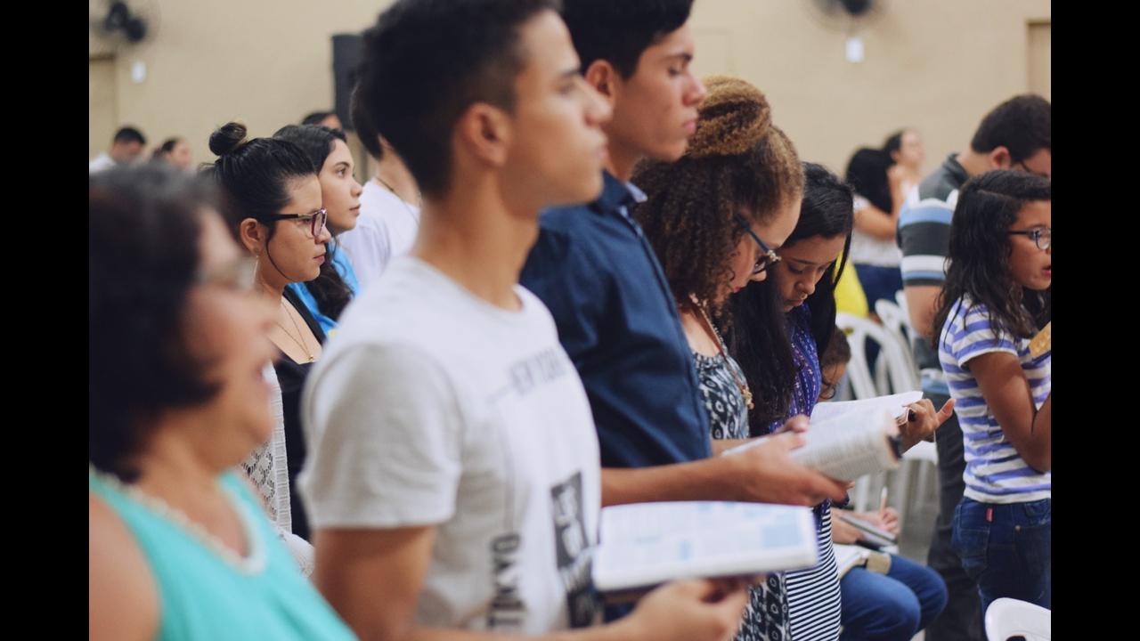 Mensagem gospel para encontro de jovens