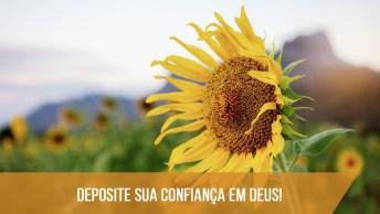 Mensagem Gospel Para Facebook - Deposite Sua Confiança Em Deus!