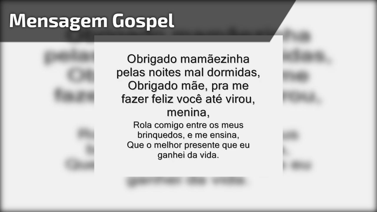 Mensagem gospel
