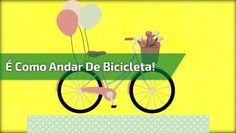 Mensagem Gospel Para Whatsapp, A Vida É Como Andar De Bicicleta!
