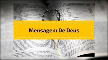 Mensagem Para Whatsapp - Coloque Sua Vida Nãos Mãos De Deus!