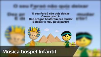Musica Gospel Infantil, Com Letra E Desenhos Divertidos, Compartilhe!